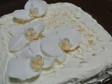 Karibský svatební dort recept