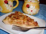 Jablečný koláč s medem a mandlemi recept