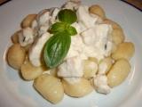 Gnocchi se sýrovou omáčkou recept