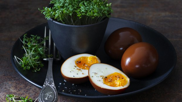 Naložená vejce Momofuku