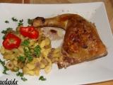 Kuřecí čtvrtky plněné olivami a sušenými rajčaty recept ...