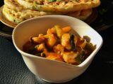 Kuřecí curry se špenátem a cuketou recept