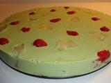 Matcha nepečený dort recept