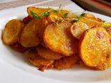 Křupavé brambory s tymiánem recept