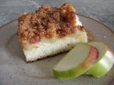 Jablkový koláč z jogurtu (s perníkovou drobenkou) recept ...