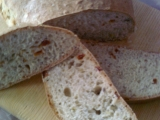 Domácí chléb se sušenými rajčaty a pórkem recept
