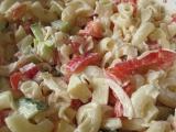Jarní těstovinový salátek recept