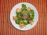 Zeleninový salát s nakládaným Hermelínem recept