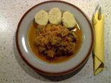 Segedínský guláš s krůtím masem recept