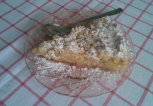 Jablečný koláč nohama vzhůru