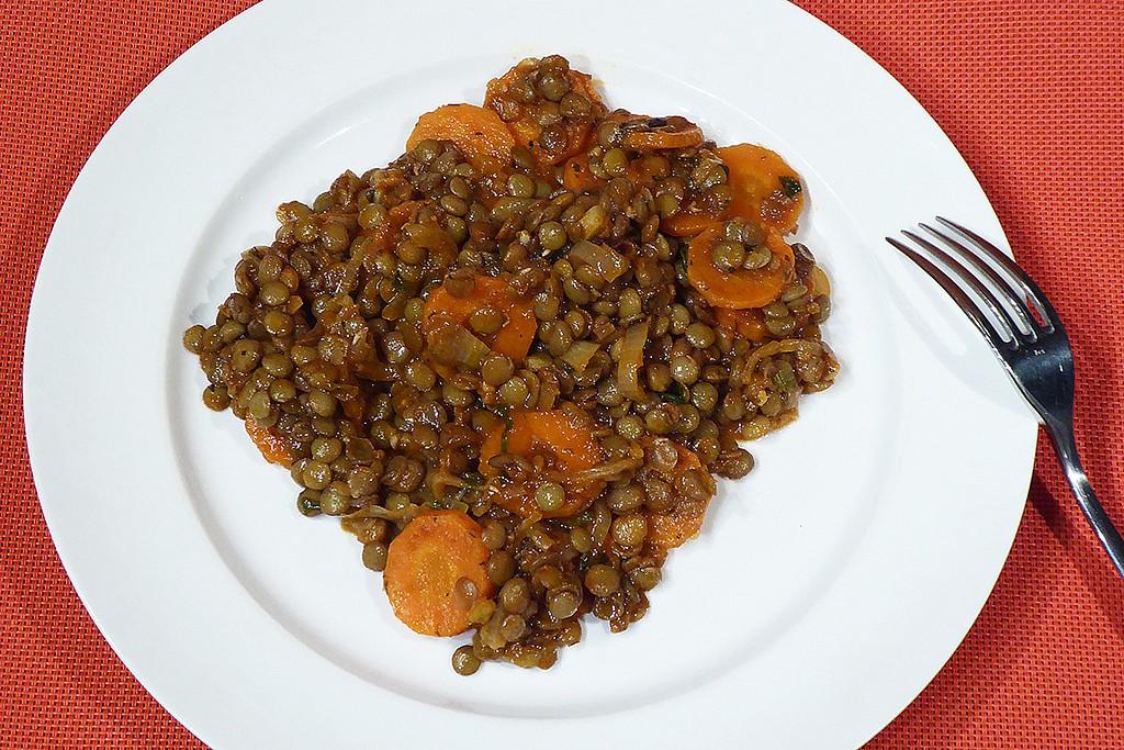 Turecká čočka s mrkví recept