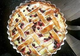 Mřížkový koláč s pudinkem recept