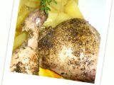 Kuře s bylinkami, pečené na másle recept
