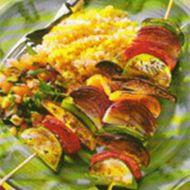 Zeleninový špíz recept