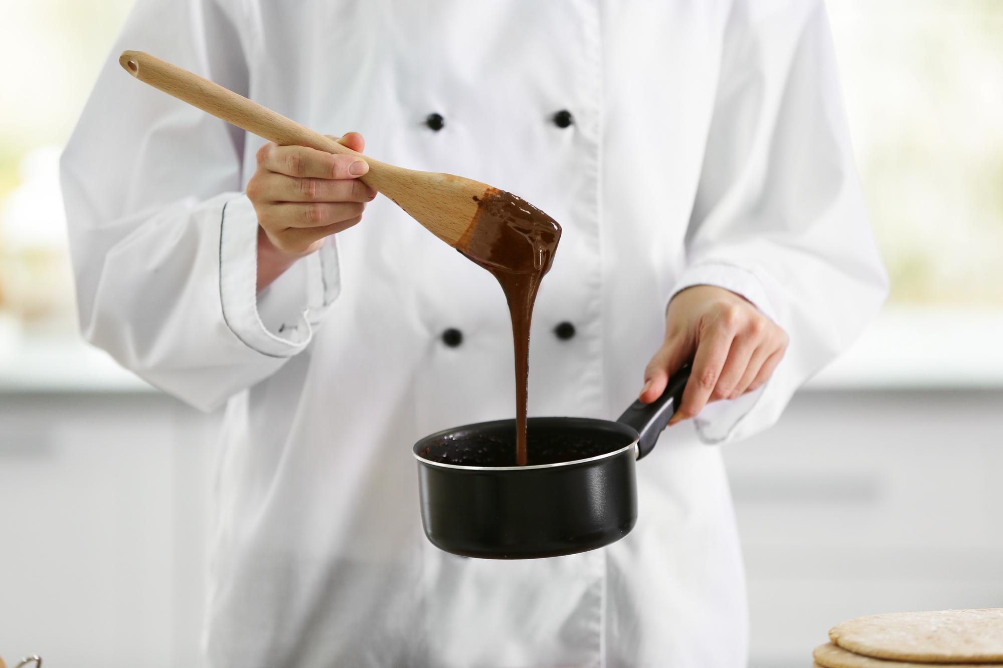 Poleva čokoládová z pudinku recept