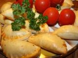Slané tvarohové pečivo s uzeným masem recept
