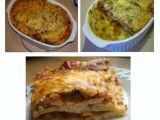 Lasagne s krůtím (kuřecím) masem a dvěma omáčkami recept ...