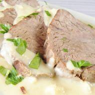 Hovězí maso s křenovou omáčkou recept