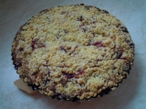 Švestkový koláč s tvarohovou náplní recept