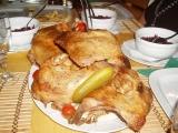Pečená husa recept