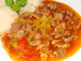 Kuřecí žaludky na zelenině recept