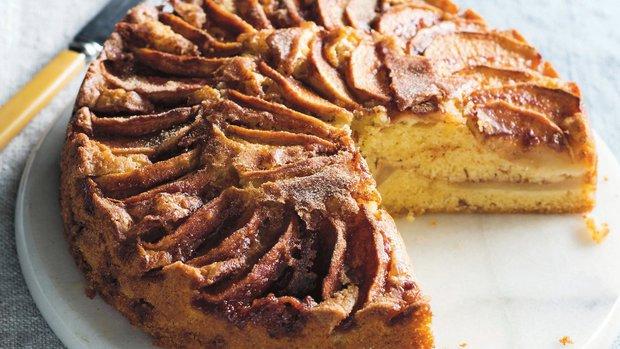 Dánský jablečný koláč