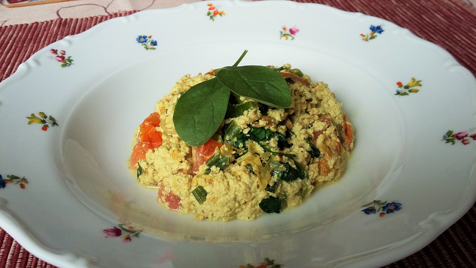 Bezvaječná tofu-vaječina recept
