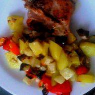 Pečená zeleninová příloha recept