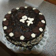 Narozeninový dort s čokoládou a ovocem recept