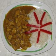 Kuřecí maso na kari recept