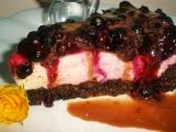 Čokoládový dort s tvarohem a borůvkami recept