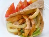 Kuřecí tortilla se zeleninou (dietní) recept