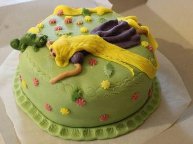 Čokoládový dort s tvarohovou šlehačkou
