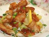 Křupavé kousky rybího filé v tempura těstíčku recept