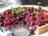 Letní koláč s lesním ovocem recept