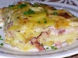 Zapečené brambory s Hermelínem recept