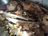Telecí žebírka se zeleninou a houbami recept