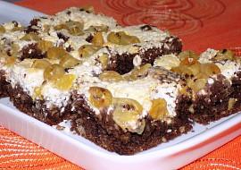 Kakaový koláč s angreštem a tvarohem recept