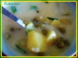 Fazolkovo-hrášková polévečka recept