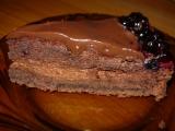 Čokoládový dort s borůvkami recept