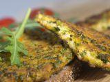 Ovesné placičky s brokolicí recept