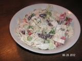 Salát z čínského zelí s křenem a fazolemi recept