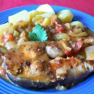 Amur v tomatu recept