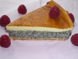 Strakatý makovo-vaječný koláč recept