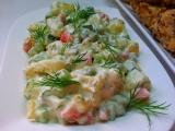 Bramborový salát se salátovou okurkou a koprem recept ...