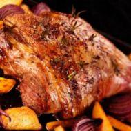 Nadívané pečené jehně recept