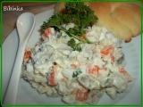 Rybí salát s kyselou příchutí recept