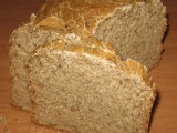 Kukuřičný kváskový slunečnicový chléb recept