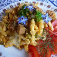 Zapečené těstoviny s vepřovým masem recept