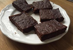 Cuketová buchta ala brownies